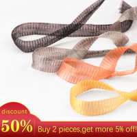 One meter 1.2cm width flexible copper wire mesh for Choker Necklace making,Earring accessories Jewelry Findings 9 colors