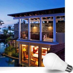 Image 5 - LED Night Light Dusk TO Dawnหลอดไฟ 10W 15W E27 B22 Smart Light SENSORหลอดไฟ 85 265VอัตโนมัติON/OFFโคมไฟในร่ม/กลางแจ้ง
