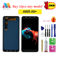 6.0 LCD Display For Samsung Galaxy A6 Plus 2018 A6+ A605fd A605 LCD Display Touch Screen Digitizer Glass Assembly + Tools