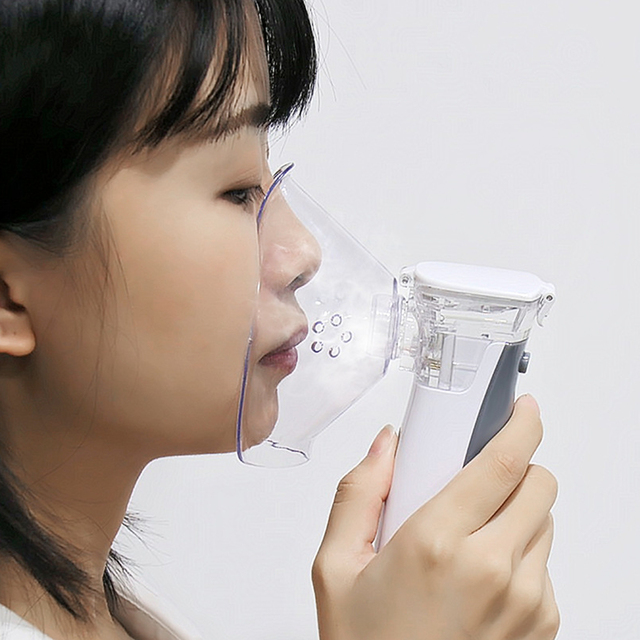 Portable nebulizer Mini Handheld inhaler nebulizer for kids Adult Atomizer nebulizador medical equipment Asthma Steaming Device 1
