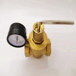 Image 3 - DN15/20/25/32真鍮水減圧バルブレギュレータmayitr維持調整可能なリリーフバルブゲージ計