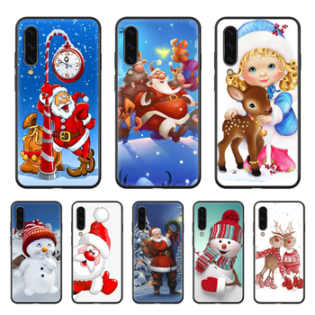 Chimney Christmas Tree Festival Phone Case Hull For Samsung Galaxy A 50 51 20 71 70 40 30 10 E 4G S Black Funda Soft Prime Trend image