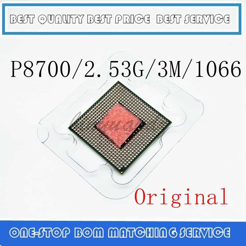 P8700 Cpu 2.53 Ghz 3M 1066 Mhz Socket 478 Cpu Processore