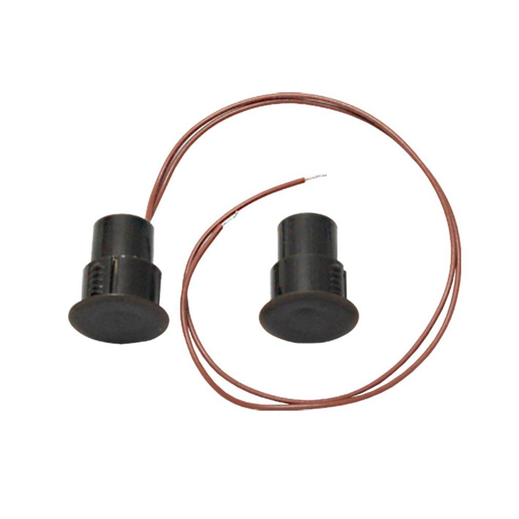 Wired Recessed Window Door Magnetic Contact Reed Switch Door Sensor Alarm Switch For Security Alarm System