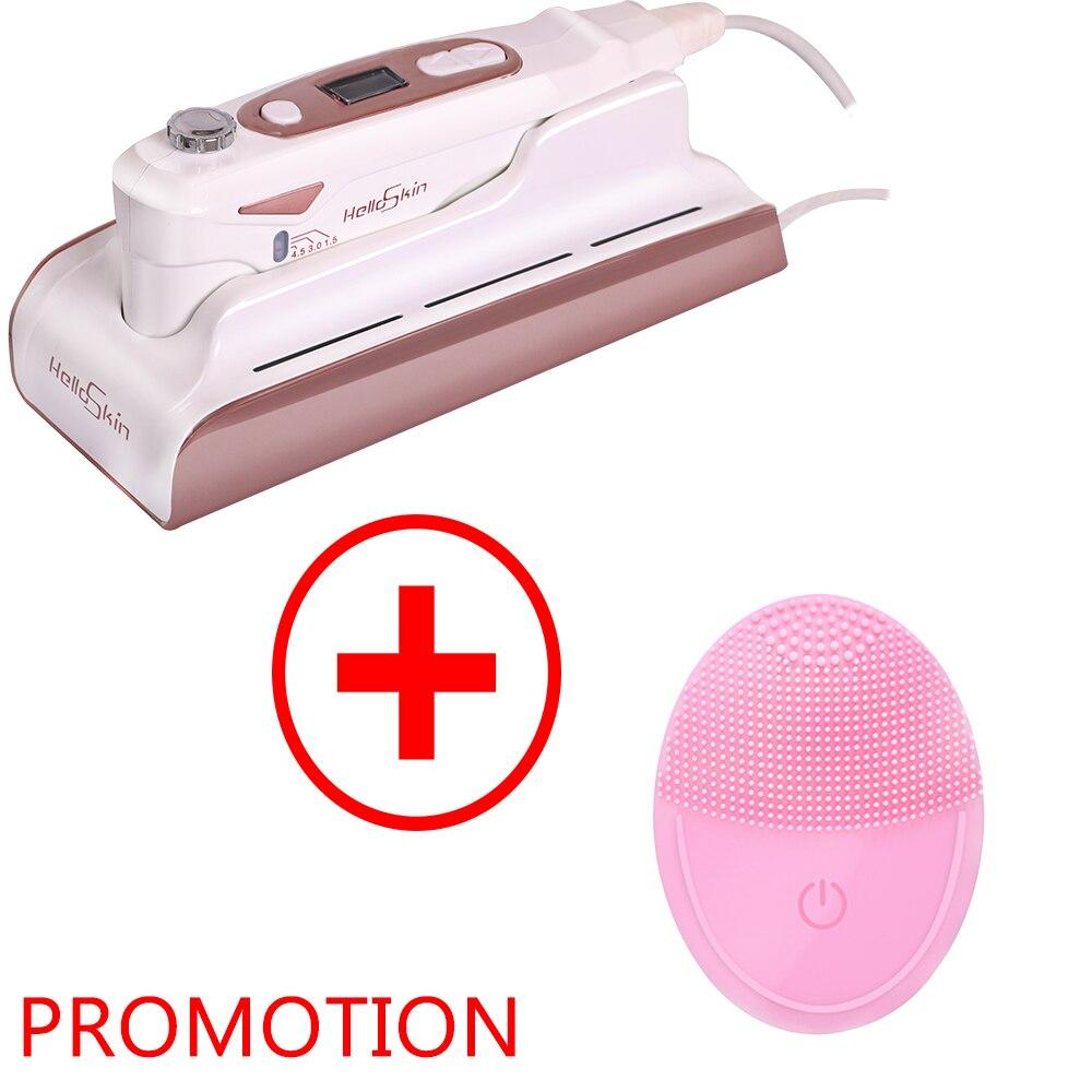 Hifu Skin Care Mini Hifu Beauty Machine V Curing High Intensity Focused Facial Lifting Home Use Beauty Machine RF Anti Wrinkle