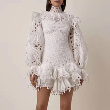 pizzo Nuove bianco vestito