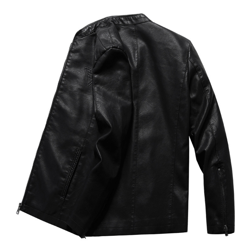 8XL Plus Size Leather Jacket 2020 New Oversized PU Coat Men's Colthing