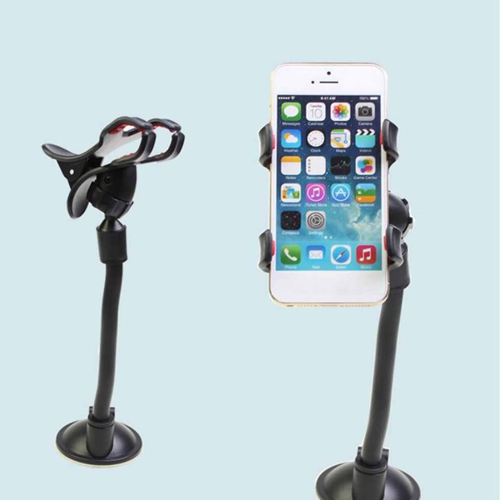 حامل هاتف السيارة 360 تدوير شفط كأس لوحة القيادة الزجاج الأمامي جبل حامل العالمي للهاتف جهاز نظام تحديد المواقع