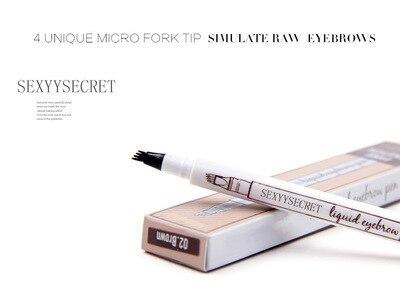 MB 4 Color Eyebrow Pencil Tint 4 Tip Brow Tattoo Pen Paint Makeup Eyebrows Waterproof Cosmetic Eye brow Liner 4