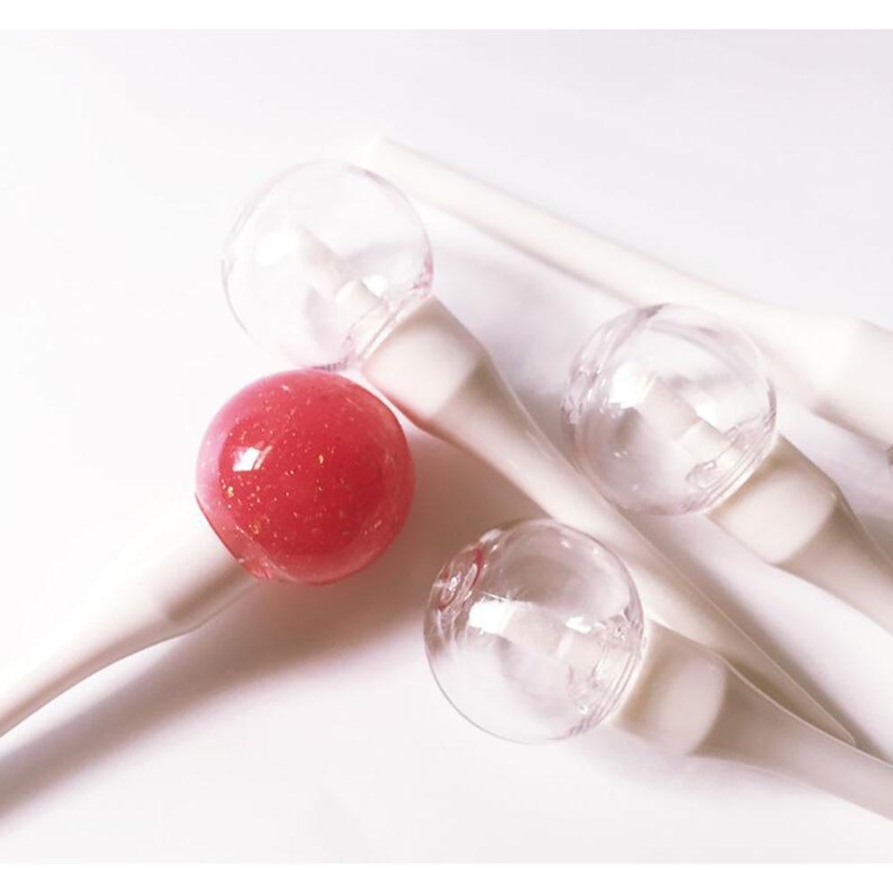 5 pièces sucette ampoule brillant à lèvres Tube vide Transparent en plastique rechargeable baume à lèvres Tube rouge à lèvres Mini cosmétique conteneur