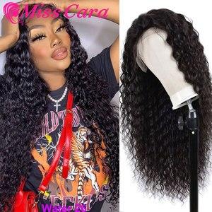 100% человеческие волосы, кружевные фронтальные парики для девочек, Malaysin, водяная волна, предварительно выщипанный кружевной фронтальный пар...