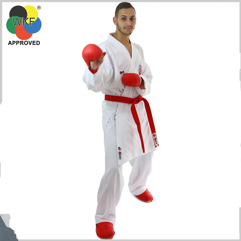 WKF certified Smai karate uniforms for beginners export original karate training clothing cotton twill fabric with