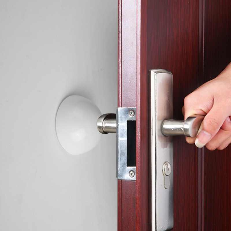 2 pièces bouchon de porte bouton de porte protecteur mural savourer antichoc Crash Pad arrêt livraison directe silicone poignée de porte bouchon