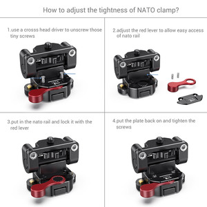 Image 3 - SmallRig DSLRกล้องEVF Mount 5 นิ้ว/7 นิ้วผู้ถือแผ่นติดตั้งNATO Clamp   2100