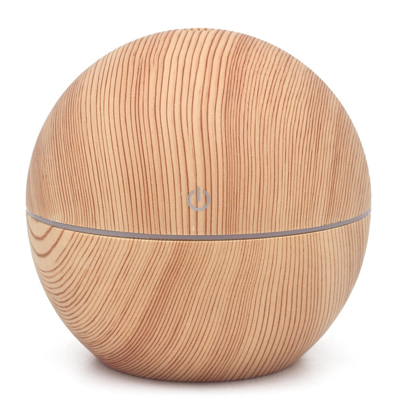 New Ball 130Ml Air Humidifier Electric Aroma Diffuser Aromatherapy Essential Oil Cool Mist Maker 7 Color Light|Humidifiers| |  - title=