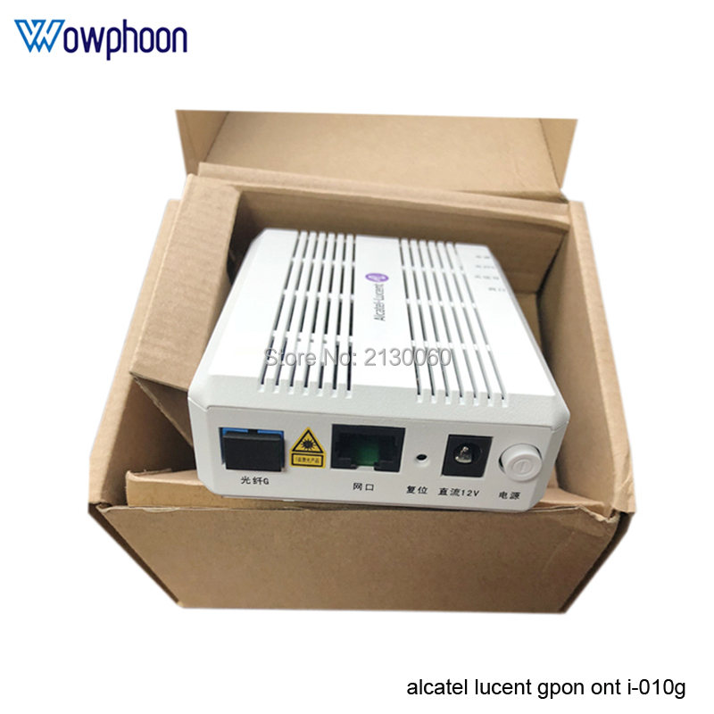 Free Shipping I-010G GPON ONU ONT 1GE Port,English Version Optical Network Terminal SC UPC Interface New Brand I-010G ONU