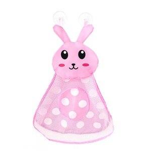 Image 5 - 赤ちゃんのおもちゃのアヒルメッシュバッグ風呂の浴槽人形オーガナイザー吸引浴室風呂のおもちゃものネットベビーキッズおもちゃバスゲームバッグ子供