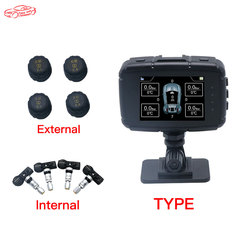 FUNNY AUTO LK990 Smart Car TPMS Tyre Pressure Monitoring System with gps tracker and direction navigation anti fall smart TPMS