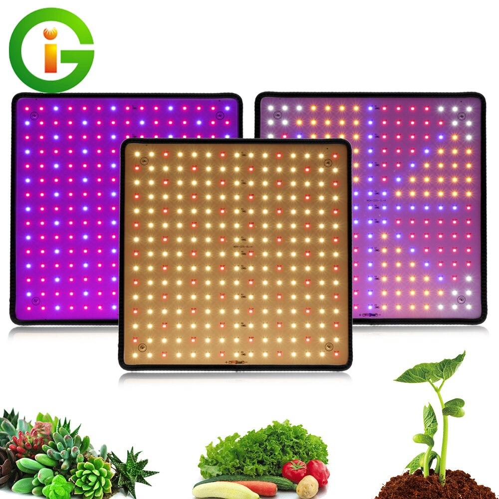 3 pçs 1000w led crescer painel de luz espectro completo phyto lâmpada AC85-240V ue/eua plug para indoor crescer tenda plantas crescimento luz
