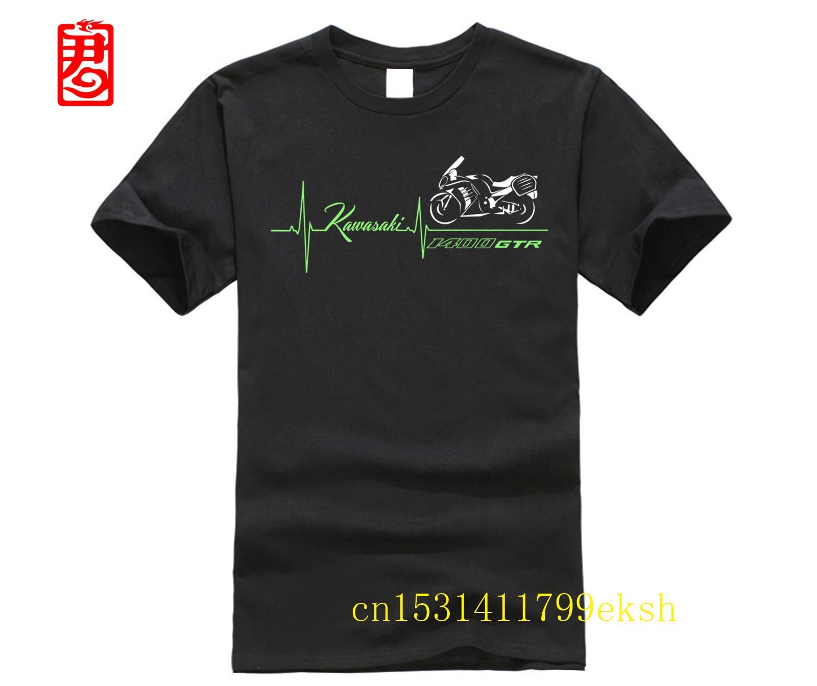T-shirt Maglia Per Moto  GTR 1400 Battito Cuore GTR1400 Maglietta Tshirt