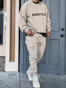 Hoodie Pants Ovesized-Trousers Fog Essentials Loose Hip-Hop Lorenzo Jerry Kanye-West