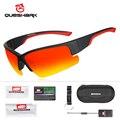 QUESHARK Новые Мужские поляризационные очки для рыбалки  ультралегкие матовые черные рыбацкие очки в оправе  спортивные очки с УФ-защитой