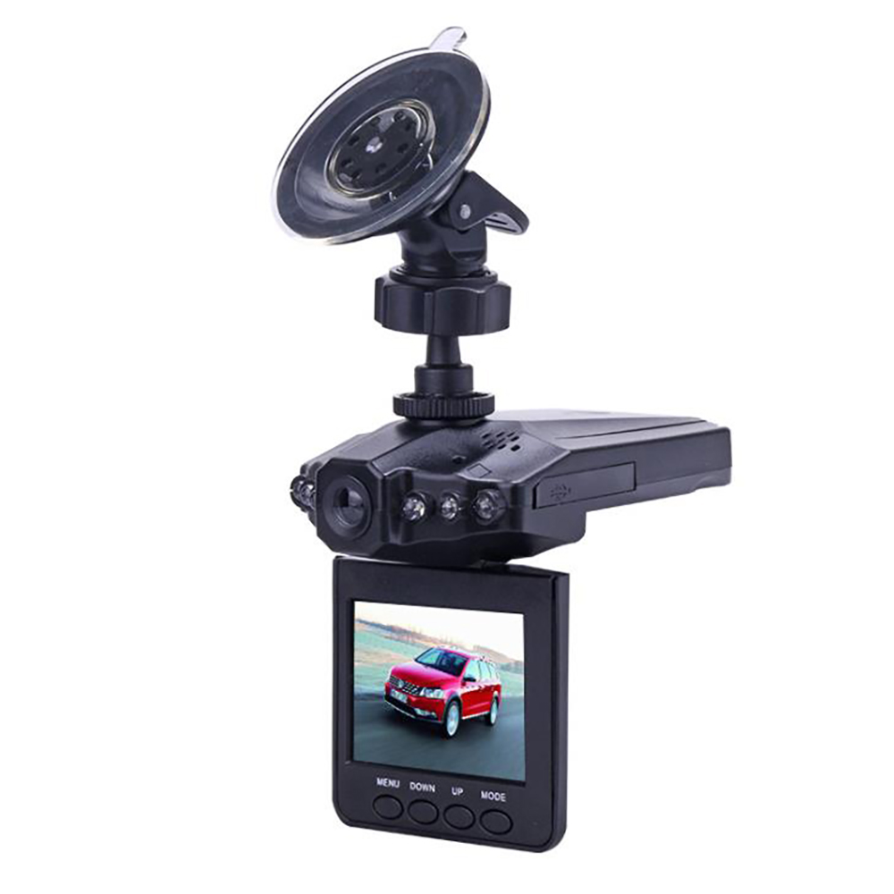 2.4 inch Plane Head Shape Full HD 1080P <font><b>Car</b></font> <font><b>DVR</b></font> <font><b>Vehicle</b></font> <font><b>Camera</b></font> <font><b>Video</b></font> <font><b>Recorder</b></font> Infra Night Vision 270 degree Rotation Loop <font><b>video</b></font> image