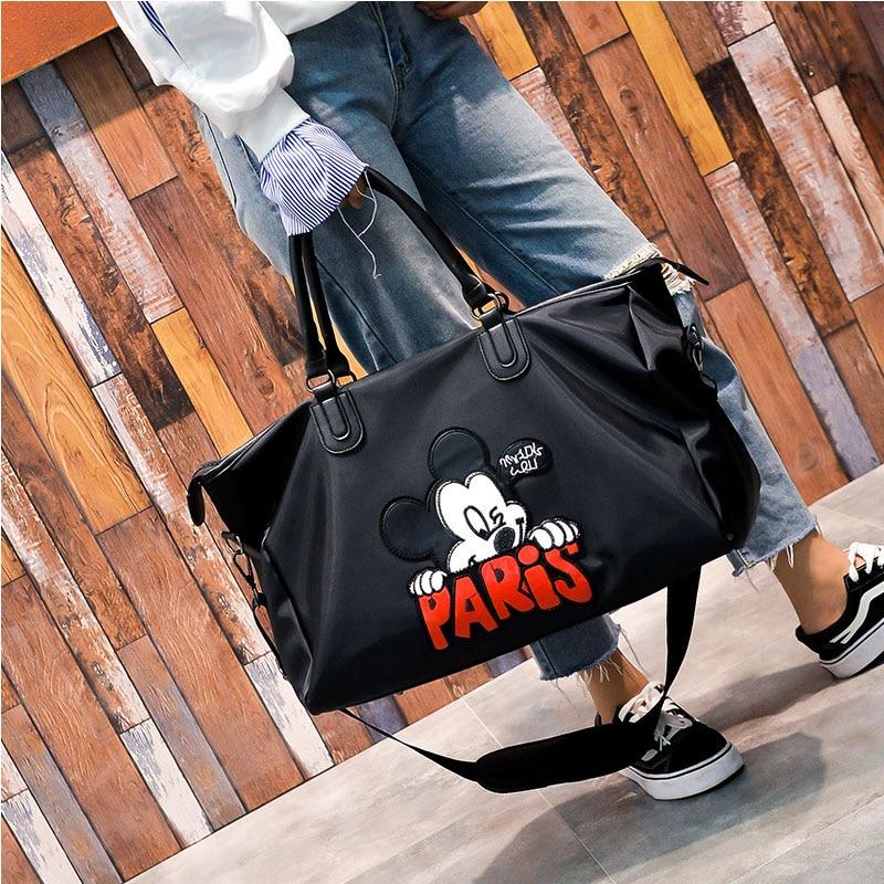 Handbag Duffle-Bags Luggage Crossbody-Bags Weekend Travel Large-Capacity Women Waterproof