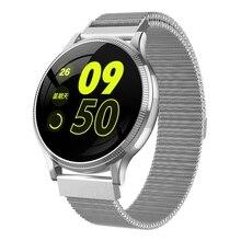 FULL-MK08 фитнес-трекер Смарт-часы IP67 Водонепроницаемый кровяное давление Smartwatch монитор сердечного ритма спортивный браслет для Android