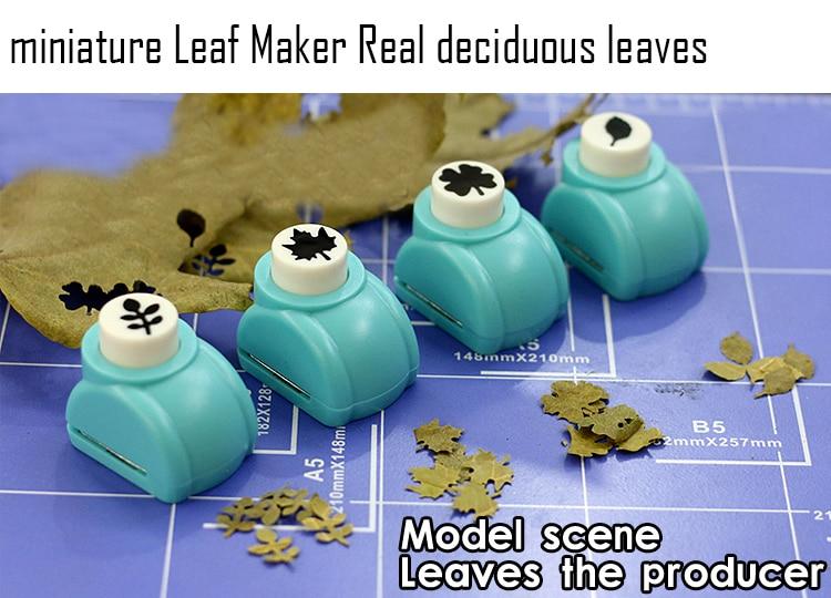 Miniature  Leaf Maker  Real Deciduous Leaves  Military Model Scenario Making Tool  DIY Tool