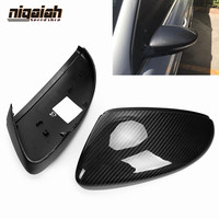 Carbon Fiber Mirror Covers for Volkswagen VW CC 2010 2018 Scirocco 2009 2016 Passat Beetle EOS Bora Side Mirror Caps Replacement