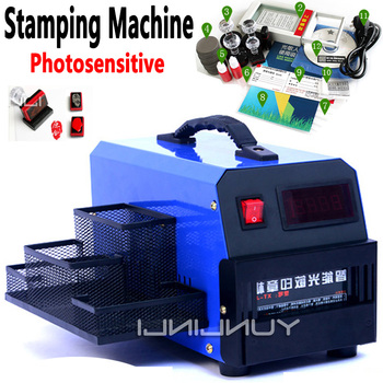 Digital Photosensitive Seal Flash Stamp Machine Photosensitive Stamping Machine Stamping Making Seal for Business Seals XT-J3 time pc cake chronodex seal photosensitive stamp creative planner schedule diy scrapbooking making deliveries time diary record