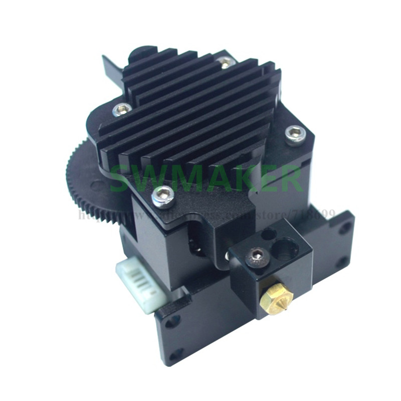 Second generation - Mirrored Orientation E3D Titan Aero 3d printer spare part of feed extruder support TPU materials image