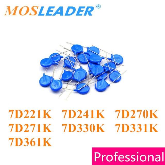 Варистор Mosleader 7D221K 7D241K 7D270K 7D271K 7D330K 7D331K 7D361K DIP 7D221 7D241 7D270 7D271 7D330 7D331 7D361, 1000 шт.