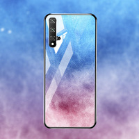 silicone case Tempered Glass Case For Huawei honor 20 8X mate 20 10 lite Cases Space Silicone Covers for Huawei mate 20 Pro 20x back cover (5)