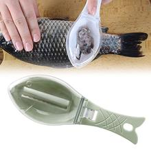 цена на Kitchen Tool Fish Scale Remover Scaler Scraper CleanerPeeler Gadgets Fish Scaler Clam Opener Fishs Clam Scale Scraper