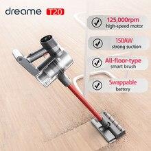 Dreame – aspirateur à main sans fil T20, brosse intelligente sur toute la surface, collecteur de poussière 25kpa, aspirateur pour tapis et sol