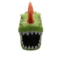 Halloween Masks Scary 2019 Cosplay Funny REX Dinosaur Mask Melting Face Latex Costume Halloween Scary Mask K919