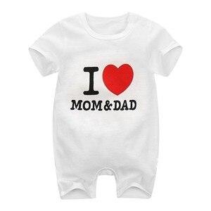 Одежда для новорожденных, симпатичное нижнее белье с мультяшным принтом Комбинезоны для младенцев хлопковые носки для мальчиков и девочек комбинезон с длинными рукавами летние с коротким рукавом тонкая одежда для альпинизма