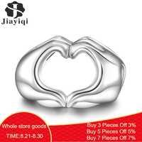 Jiayiqi 2019 Mode Silber 925 Schmuck Sterling Silber Lebenslangen Liebe Europäischen Perlen Fit Charm Armband Halskette Für Frauen DIY