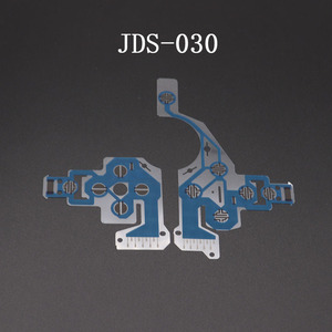 Image 2 - TingDong 20pcs עבור PS4 בקר מוליך סרט Flex כבל עבור PS4 פרו רזה ג ויסטיק תיקון חלק JDS JDM 001 011 030 040 050