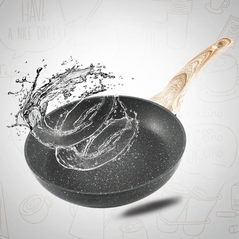 Maifan Stone Color Induction Cooker Gas Stove Universal Multifunctional Pancake Steak Pot Flat Non-Stick Frying Pan