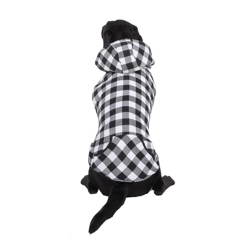 BDTHOOO хлопок, пальто для собак, зимняя одежда, маленькая одежда, ночная Светоотражающая одежда для домашних животных - Цвет: white