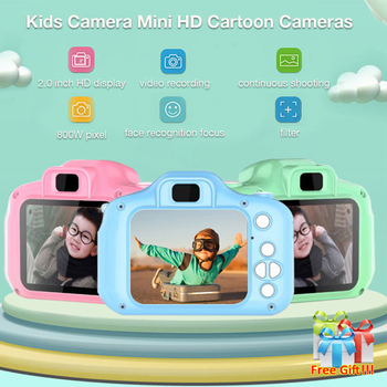Mini Camera For Children Kids Educational Toys Children Baby Lovely Gifts Birthday Digital Camera 1080P Projection Video Camera