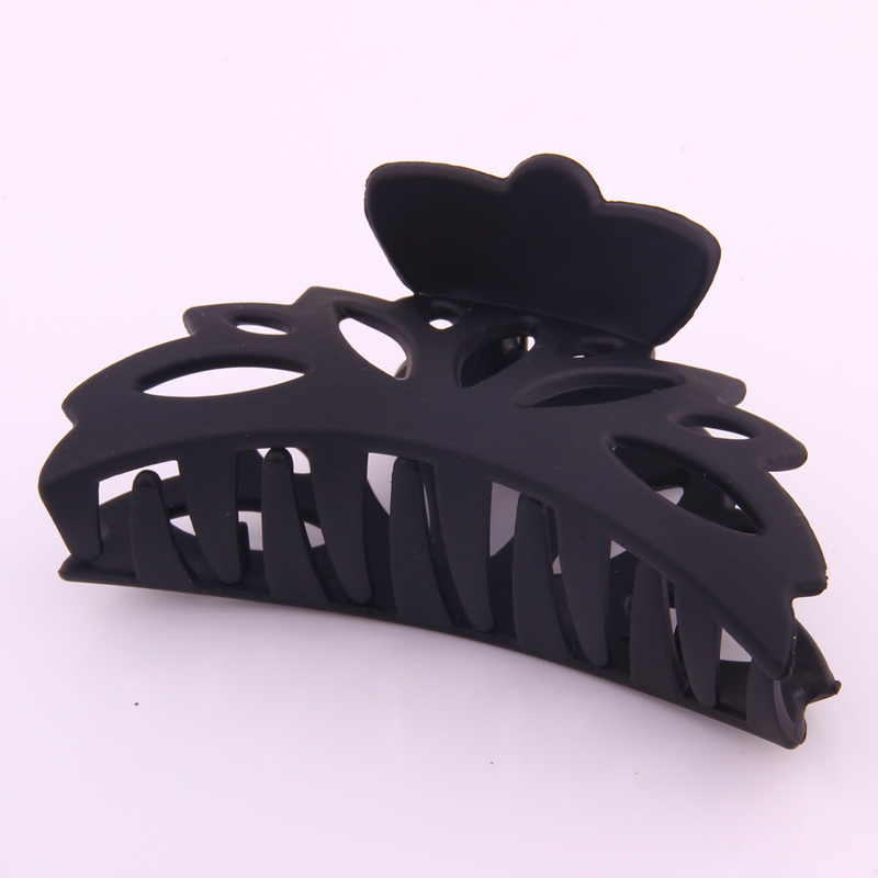 Nouvelle mode grande griffe pour cheveux en plastique élastique pour queue de cheval évider motif crabe femmes cheveux accessoires pour laver les outils de cheveux