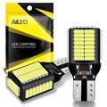 AILEO Новый T15 906 W16W светодиодный запасной светильник лампы высокой Мощность 4014 45-SMD чипсеты 7 Вт 1800LM ошибок 912 921 Фары заднего хода светильник s ...