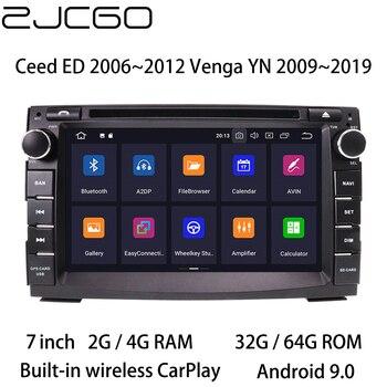 Car Multimedia Player Stereo GPS DVD Radio Navigation Android Screen for Kia Ceed ED 2006~2012 for Kia Venga YN 2009~2019