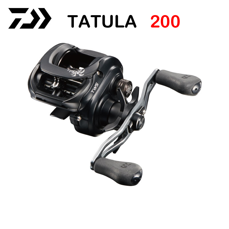 2019 DAIWA TATULA 200 H 200HL 200HS 200HSL Низкопрофильная Рыболовная катушка для заброса 7BB + 1RB