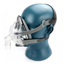 S/M/L Full Face Mask Silica Nasal Mask W/Headgear For CPAP BiPAP Sleep&Snore Respirator E65A