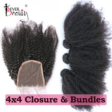 Human Hair Bundles With Closure